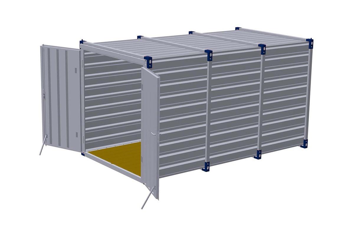 demontabele containers zeecontainer opslagcontainer materiaal container snelbouw container