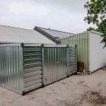 CONTAINER 6 mtr | Dubbele deuren lange zijde