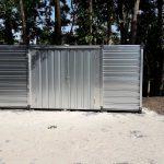 CONTAINER 5 mtr | Dubbele deuren lange zijde