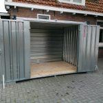 CONTAINER 3 mtr | Dubbele deuren lange zijde