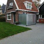 CONTAINER 3 mtr | Dubbele deuren korte zijde