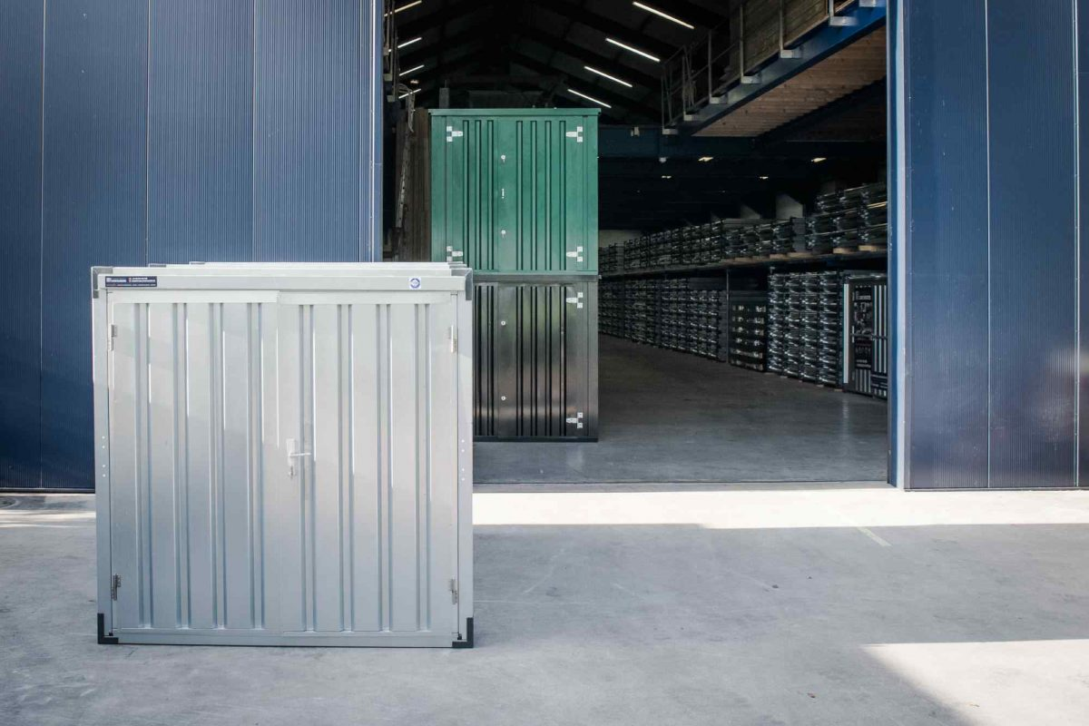Zelfbouwcontainers, snelbouwcontainers, demontabele containers, kantoorunits